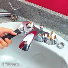 How To Repair A Leaky Kitchen Faucet Quickly Fix A Leaky Faucet Cartridge Diy Family Handyman