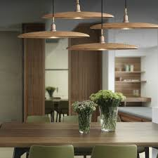 willlustr holz pendelleuchte holz hängeleuchte minimalistisches design nordic beleuchtung hängende le esszimmer restaurant hotel