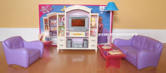 my fancy life dollhouse living room with entertainment tv hi fi