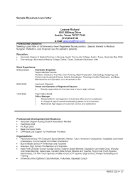 Cosmetology Resume Sample Entry Level Cosmetologist