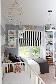 Sweet Shared Bedroom For Little Boys With A Crib