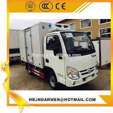 100 Small Box Trucks For Sale Yuejin Diesel Engine 2ton Refrigerated Truck Buy