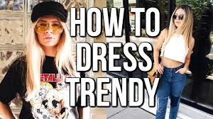 how to dress trendy for cheap where i shop for clothes youtube