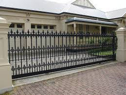 Gate And Fence : Iron Gate Doors Custom Iron Gates Metal Fence ... Wall Fence Design Homes Brick Idea Interior Flauminc Fence Design Shutterstock Home Designs Fencing Styles And Attractive Wooden Backyard With Iron Bars 22 Vinyl Ideas For Residential Innenarchitektur Awesome Front Gate Photos Pictures Some Csideration In Choosing Minimalist 4 Stock Download Contemporary S Gates Garden House The Philippines Youtube Modern Concrete Best Bedroom Patio Terrific Gallery Of