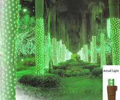 Ebay Christmas Trees With Lights by 2 U0027 X 8 U0027 Green Led Net Style Tree Trunk Wrap Christmas Lights