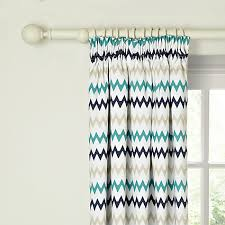 Teal Blackout Curtains Pencil Pleat by Buy Little Home At John Lewis Robotica Zig Zag Pencil Pleat