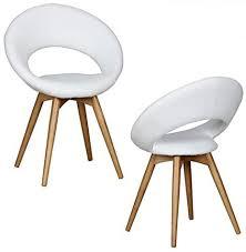 wohnling esszimmerstühle gepolstert mit holz beinen und rücken lehne polsterstuhl im skandinavischem design design küchenstühle retro