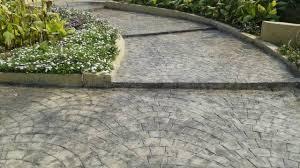 Designer Concrete Driveways Basement Ramp Parking Area Shubhaam Concret Floors