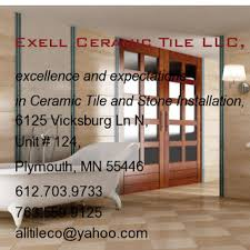 Tile Shop Llc Plymouth Mn by Exell Ceramic Tile Llc Plymouth Mn Us 55446