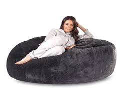 Giant Fluffy Bean Bag