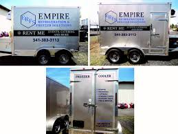 100 Freezer Truck Rental Trailer S EMPIRE REFRIGERATION FREEZER SOLUTIONS