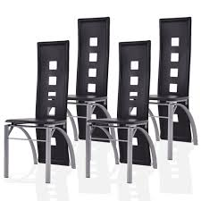 Set Of 4 Dining Chairs PU Leather Steel Frame High Back Home ... Set Of 4 Ding Chairs Pu Leather Steel Frame High Back Home Buy District Elm Wood And Metal Chair Pair Online Cfs Uk Antique Rusty Industrial Tolix Bar Stool Power Surge Technologies Ltd Fniture Mats Adjustable Nrs Healthcare China Stainless Golden White B8661gy Executive Gun Finish Vintage Style Stackable Highback Amazoncom Costway April Highback Chair Vestre Mara With Chrome Legs 2 Zuri Shop Merax Chic For