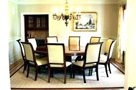 Dining Tables For 12 Square Room Table Size Round