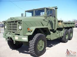 100 Army 5 Ton Truck 2012 GENERAL ARMY MILITARY 6X6 TON LIKE NEW ONLY 99