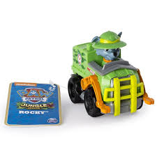 Rocky & Vehicle - Jungle Rescue - Rescue Racers - Paw Patrol - Paw ... Matchbox Rocky The Robot Truck Deluxe 1852829783 Caroltoys Tobot Tritan Mini Ukuran 25cm Mainan Anak Shopee The Transformers Robots In Dguise Warrior Class Bumblebee Figure Stuff To Buy Pinterest Ollies Black Friday Ad 2018 Youtube Smokey Fire Stinky Garbage Toys Games Vehicles Remote Robot Truck