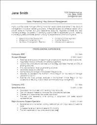 Sales And Marketing Resumes Resume Executive Examples For