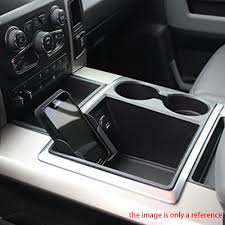 100 2012 Trucks Car Box Storage Tray Phone Holder For Dodge Ram Business Card