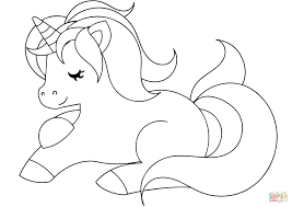 1500x1061 Cute Unicorn Printable Coloring Pages