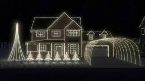 wizards in winter lights display 2013