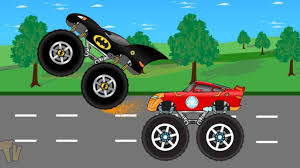 Ironman Truck Vs Batman Monster Truck - Video For Kids - YouTube Monster Truck Stunts Trucks Videos Learn Vegetables For Dan We Are The Big Song Sports Car Garage Toy Factory Robot Kids Man Of Steel Superman Hot Wheels Jam Unboxing And Race Youtube Children 2 Numbers Colors Letters Games Videos For Gameplay 10 Cool Traxxas Destruction Tour Bakersfield Ca 2017 With Blippi Educational Ironman Vs Batman Video Spiderman Lightning Mcqueen In