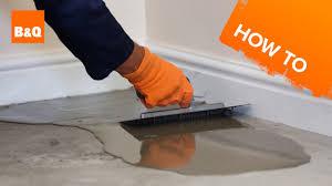 Dap Flexible Floor Patch And Leveler Youtube by Floor Concrete Leveling Techniques Carpet Vidalondon