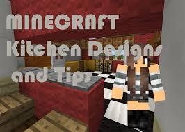 minecraft fancy kitchen designs tips no mods 1 9 youtube