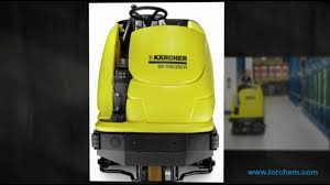 Tennant Floor Machine Batteries by Ride On Floor Scrubber Kärcher Br 100 250 Industrial Battery