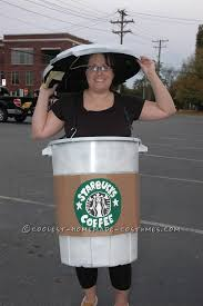 Coolest Starbucks Coffee Cup Costume Idea This Website Is The Pinterest Of Costumes