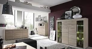 kommode sonoma eiche hell highboard wohnzimmer schrank