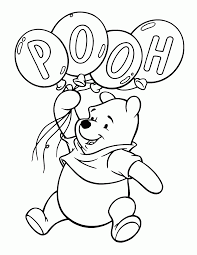 16 Best Winnie The Pooh by Coloring Pages Winnie The Pooh Classic Coloring Home