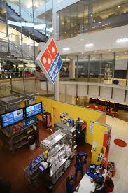 A Dominos Pizza Store Which Also Functions As Training Facility Is Planted In