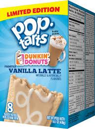 Pumpkin Swirl Iced Coffee Dunkin Donuts by Pop Tarts And Dunkin U0027 Donuts Coffee Flavored Breakfast Time Com