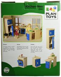 Hape Kitchen Set Canada by Plan Toy Doll House Kitchen Neo Style Furniture Amazon Canada