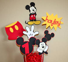 Mickey mouse birthday decor ideas