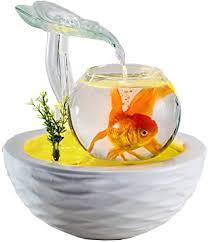 lxftk glas aquarium desktop kleines aquarium