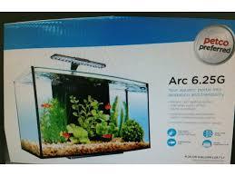 Extra Large Fish Tank Decorations by 6 25g Arc Aquarium Complete Setup Panjo