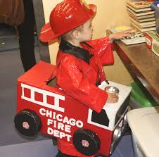 Molly's Firetruck Halloween Costume. She's Obsessed! | Costumes ...