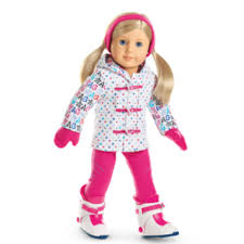 Amazoncom American Girl Hit The Slopes Outfit For 18 Inch Dolls