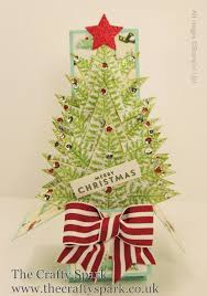 Christmas Trees Types Uk by Christmas Tree Card In A Box Stampin Up Uk Part 2 Youtube