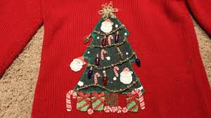 Leg Lamp Christmas Sweater Diy by Ugly Light Up Christmas Sweater Christmas Lights Decoration