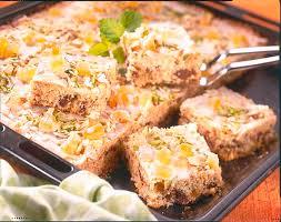 schoko haselnusskuchen mit ananas