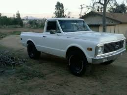 100 1970 Chevy Pickup Truck Custom Unibody Muscle Chevrolet K 2500