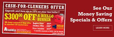 full service heating oil company aladdin fuel