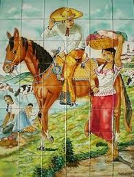 41 best mexican tile murals images on pinterest mexican tiles