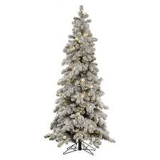 Hayneedle Flocked Christmas Trees by Flocked Christmas Tree Browse And Shop For Flocked Christmas