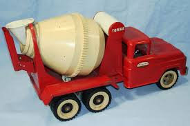 Vintage Tonka Trucks | VINTAGE TONKA CEMENT MIXER #620 PRESSED STEEL ...