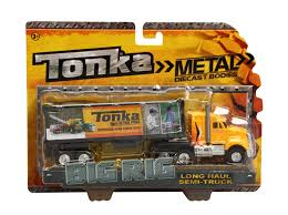 Tonka Die Cast Big Rigs Long Haul Semi-Truck | Shop For Toys In ... Semi Truck Diecast Models Walmart Colctible Toy Semi Truck Cab And Trailer 153 Precision Welly 132 Kenworth W900 Tractor Trailer Model Lvo Vn780 With Long Hauler Newray 14213 Remote Control Ardiafm Trucks Save Our Oceans Fs 164 Arizona Model Trucks Diecast Tufftrucks Australia Ertl Kenworth Country Skillet Double E Rc 120 Scale 24g Flatbed Semitrailer Eeering Pin By Robert Howard On Die Cast Toys Pinterest Trucks Amazoncom Newray Intertional Lonestar Radioactive