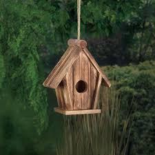Classic Rustic Wood Birdhouse