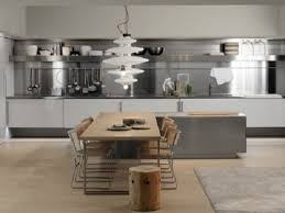 Small e Wall Kitchen with Rectangular Island Best Ideas for