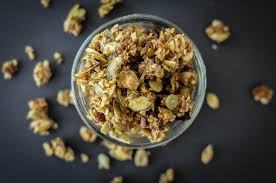 Pumpkin Flaxseed Granola Nutrition by Paleo Pumpkin Spice Granola 3 Ways Nut Free Fed U0026 Fit